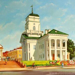 Минск городской пейзаж