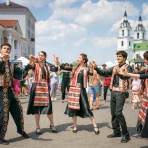 Минск, праздник в верхнем городе