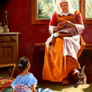 Жанровая живопись «Бабушкины сказки»