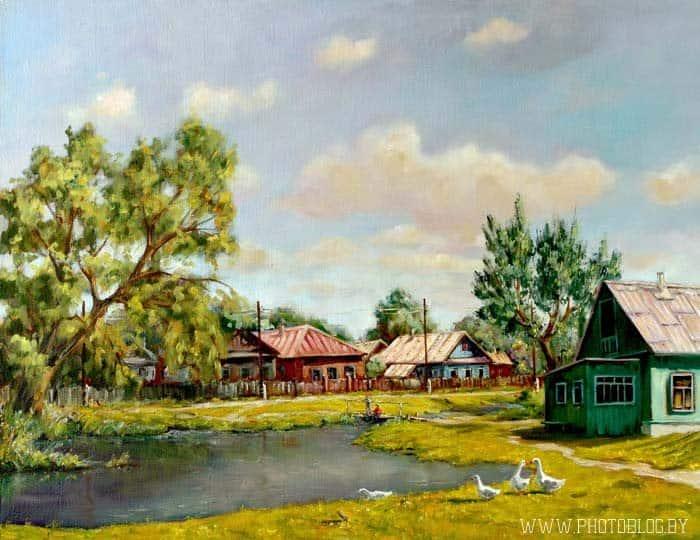 У пруда Image