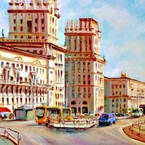 Минск, привокзальная площадь