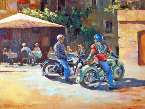 На площади у кафе Image
