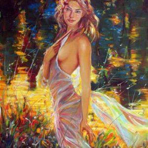 Нимфа, мифологический женский образ