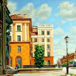 Художественный музей и улица Ленина