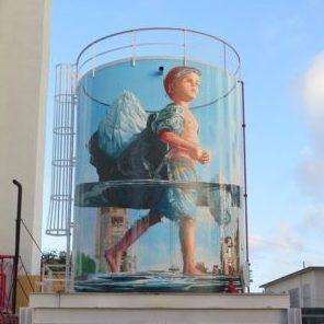 Минск настенная живопись
