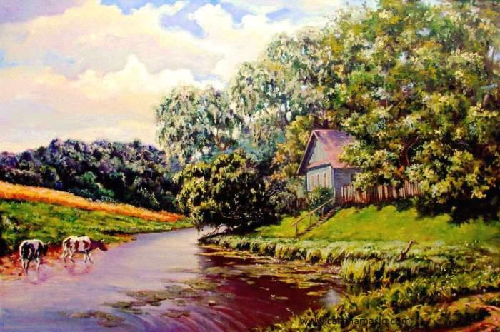 Дом у реки Image