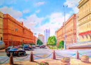 Минск улица Ленина