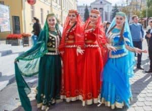 Минск площадь Свободы,Минск фестиваль Азербайджанской культуры.