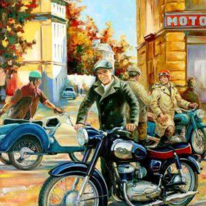 Мотоциклы советского периода и поставлявшиеся в СССР из ГДР, ЧССР и Венгрии