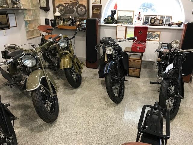 Частная коллекция ретро мотоциклов