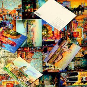 Почтовая открытка с видом Минска