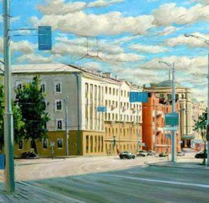 Городской пейзаж Минск