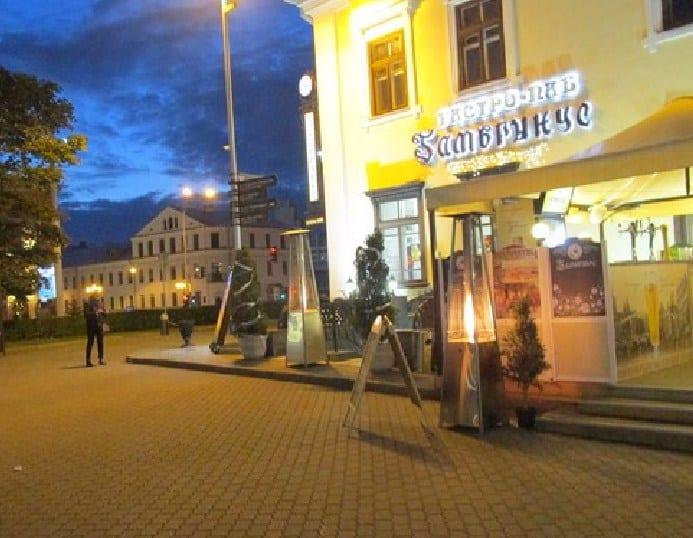 Кафе на Немиге в Минске