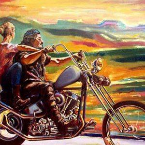 Краски Мексики-лучший подарок байкеру