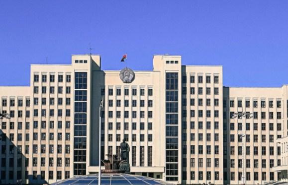 Минск дом правительства