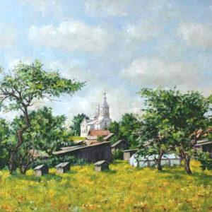 Летом в деревне