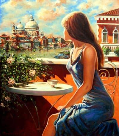 Романтика Венеции в живописи