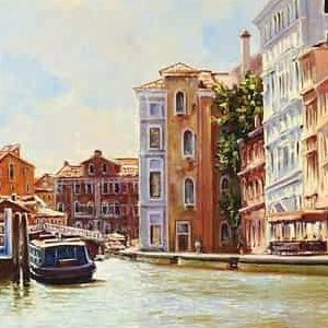 Венеция полдень-городской пейзаж