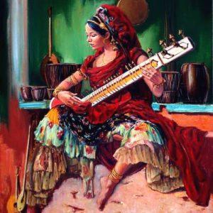 девушка Индия
