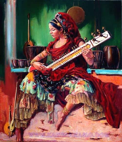 В лавке музыкальных инструментов Image