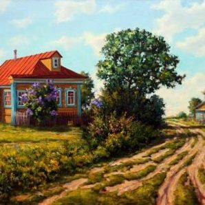 На краю села