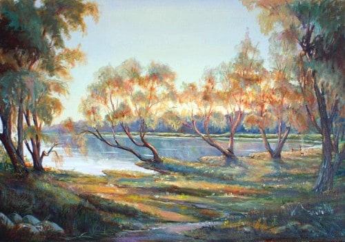 Пейзаж Минское море