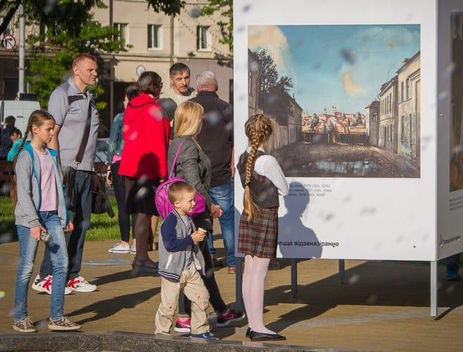 Выставка художник и город
