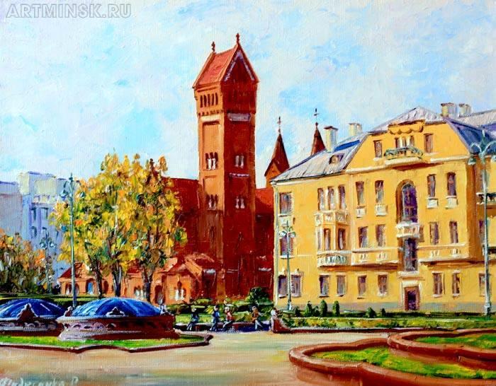 Минск площадь Независимости