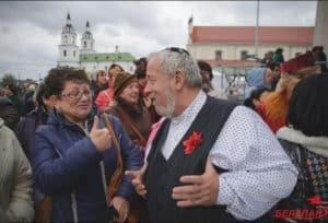 Осенний праздник по-еврейски в Минске