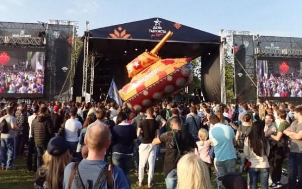 Минск праздник день танкиста