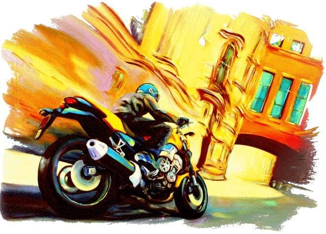 Рисунок мотоцикла