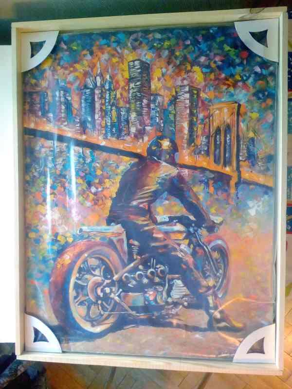 Мотоцикл мастихином