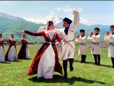 Грузия дарит белорусам танцевальное шоу