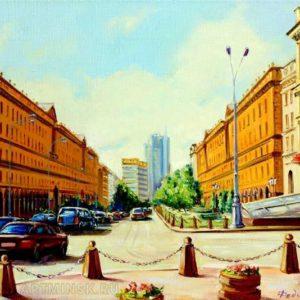 Минск, улица Ленина.