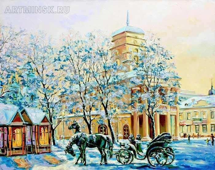 Зимний вечер Image