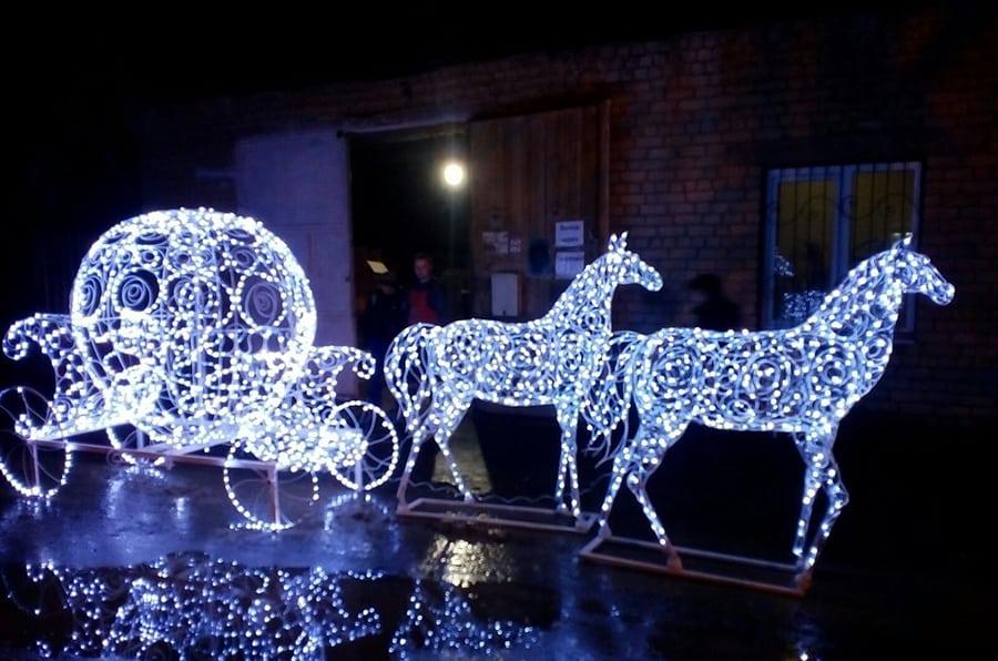 Минск новогодняя иллюминация