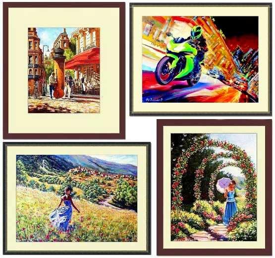 Картины художника