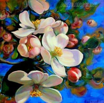Весеннее настроение, яблоневый цвет