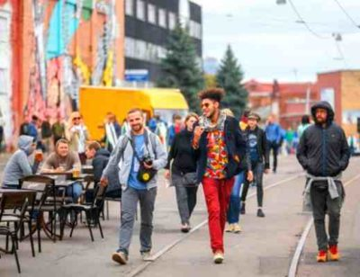 Улица Октябрьская Минск