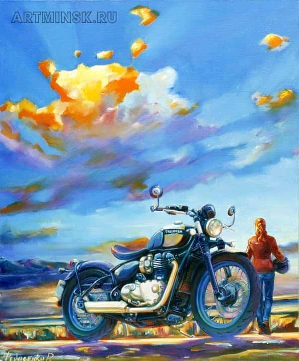 Мотоцикл Триумф BONNEVILLE BOBBER