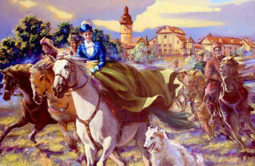 Легенды Несвижского замка, новая картина