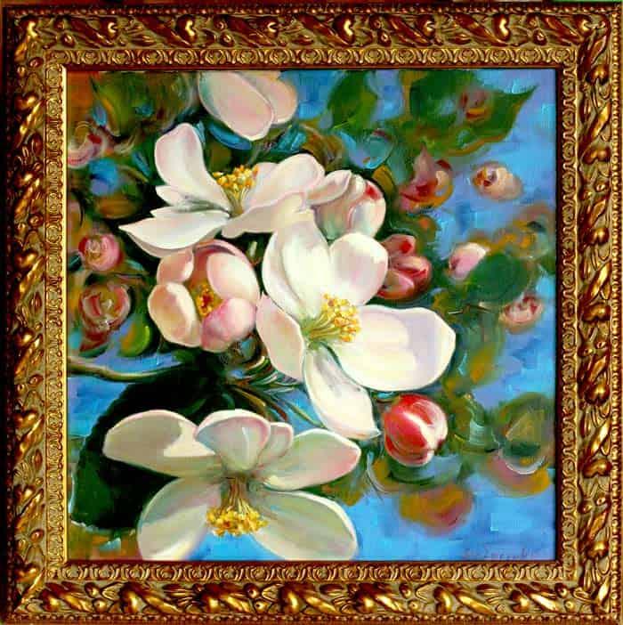 Весеннее настроение, яблоневый цвет Image