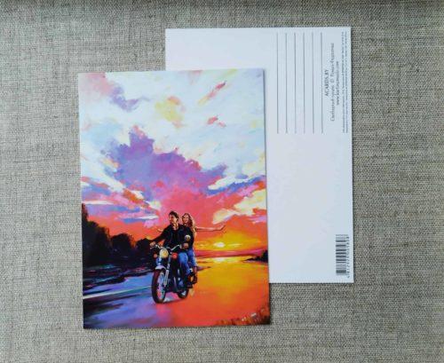 Новые открытки из серии мотоарт
