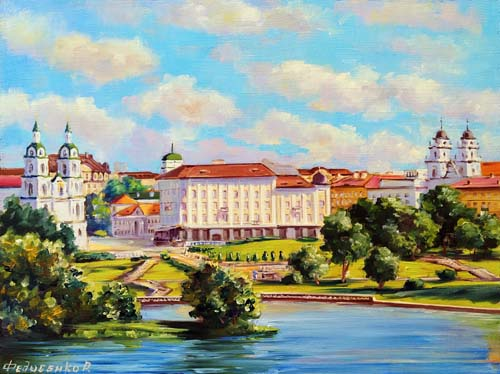 Виды Минска