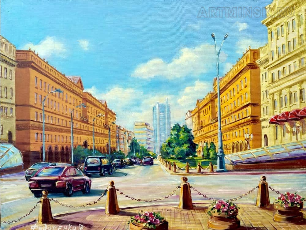 Минск, улица Ленина Image