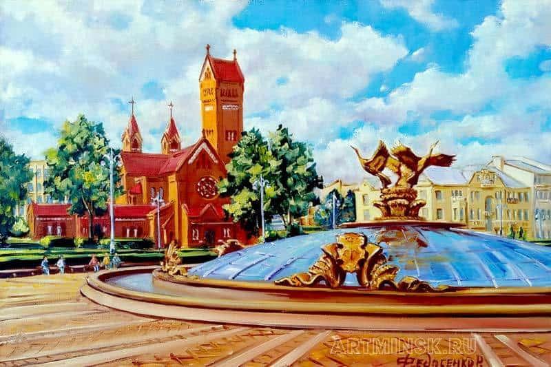 Минск, площадь Независимости. Купол Image