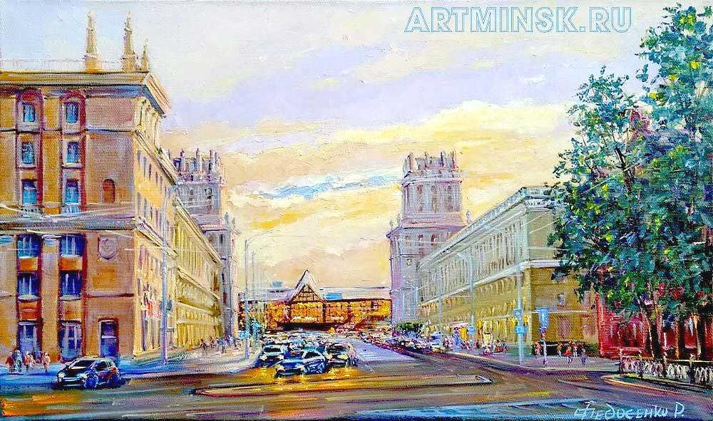 Минск, ворота города Image