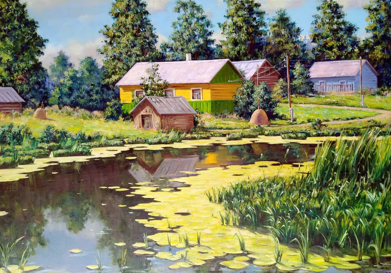 Домик у реки Image