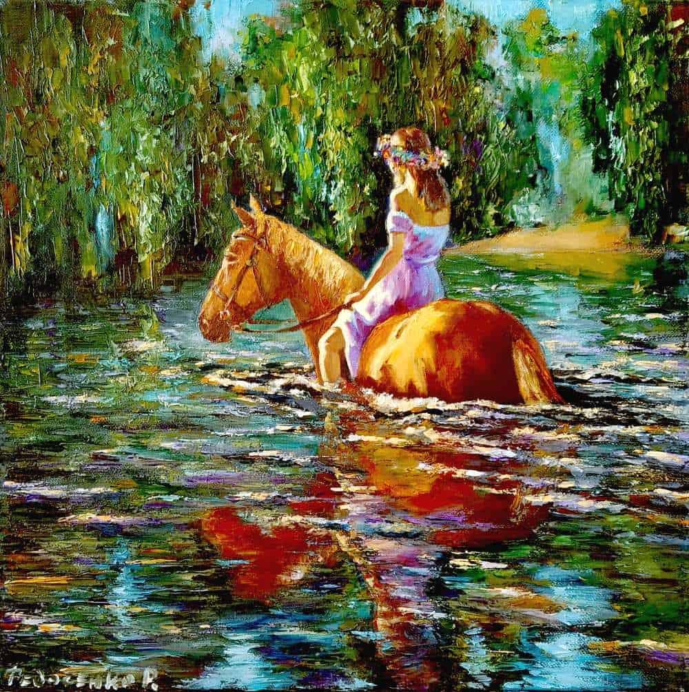 Купание коня Image