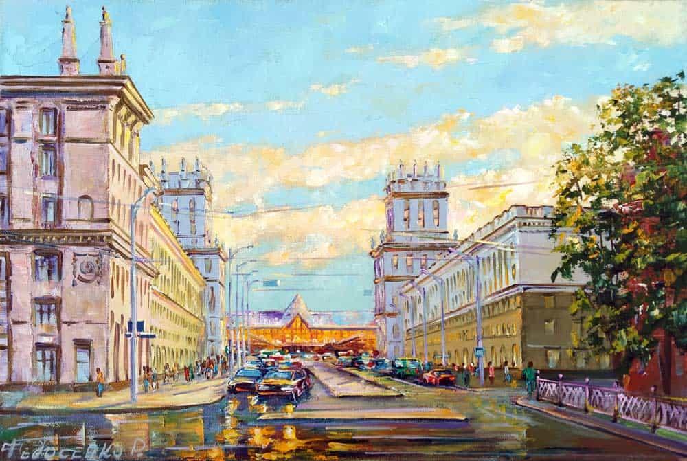Минск, ворота города